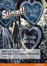 stimmt! AQA GCSE Alemán gramática y traducción Workbook Por Meier, MR Jon Pape