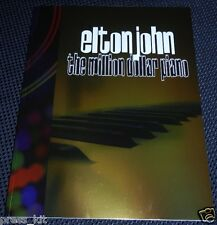 Elton John Musical Show NEW Tour Book Singing Million Dollar Piano NEW