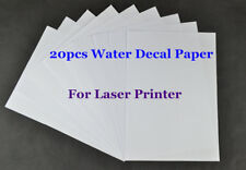 A4 Clear/Transparent Paper Water Slide Decal Paper Laser Water Transfer Paper