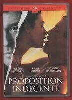 DVD - Propuesta Tan con Robert Redford, Demi Moore Et Woody Harrelson