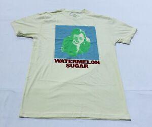 Harry Styles Men's S/S HS Watermelon Sugar T-Shirt SV3 Natural Medium