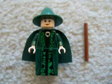 LEGO Harry Potter - Rare - Professor McGonagall Minifig w/ Wand - From 4842