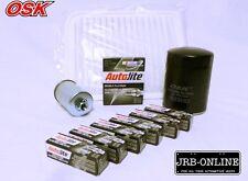 Ford BA I-II & TERRITORY SX 4.0L Oil Air Fuel Filter SPARK Service Kit 2002-2005