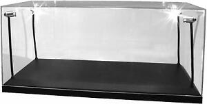 LED Lighted Display Case Suitable For 1:18 Diecast Model Cars 35cm x 15cm x 16cm