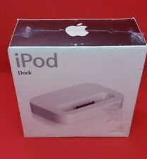 Classic Apple iPod Dock for iPod with dock connector - M9130G/A - New & Sealed