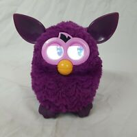 Furby Boom Purple Interactive Talking Electronic Pet Toy 2012 - Working
