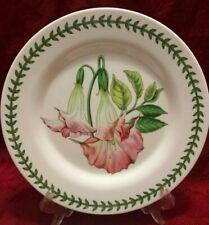 Portmeirion Melamine Set Of 4 Salad Dessert Plate Floral Pink 8 in diam New