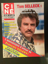 CINE REVUE 1984 N°14 tom selleck jeanne moreau