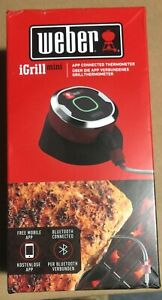Weber iGrill Mini Bluetooth Connected Barbecue Meat Thermometer BRAND NEW.