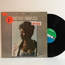 Aretha Franklin ARETHA ARRIVES 1967 1st press 3D/1D Atlatic LP SD 8150 shrink EX