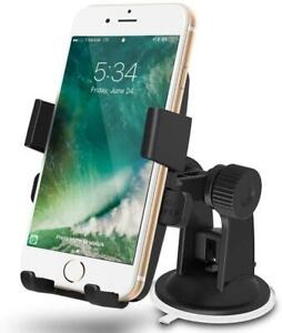 360° Rotatable Car Mount Phone Holder In-Car Suction Windshield Stand Dashboard