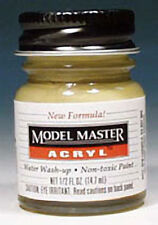 Testors Model Master Paint 4812 U.S. Gulf Armor Sand 1/2 oz