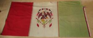 ANTIQUE NATIVE AMERICAN? MEXICAN? WOVEN CLOTH ETHNIC BLANKET SNAKE+EAGLE MOTIF