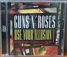 Guns N' Roses - Use Your Illusion I World Tour 1992 in Tokyo (DVD, 1992) Like Ne