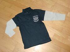*TCM* Polo Langarmshirt TCM Rock Pirates Gr. 122/128 blau Poloshirt Tchibo *TOP*