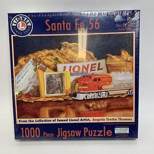 New Lionel 1000 Piece Puzzle Train Sante Fe 56 Item 20964 Angela Thomas