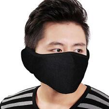 HOT Unisex Men Women Poker Flower Design Anti-Dust Soft Velvet Mouth Face Mask