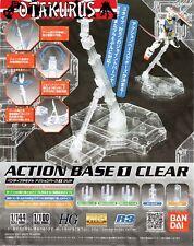 Clear Action Base 1 Stand For Gundam Models HG MG 1/100 1/144 Model Bandai