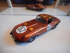 Polistil Jaguar E type 4.2 Litre in Orange on 1:25