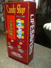 Lifesaver & Reeses peanut butter cups candy vending machine mancave diner