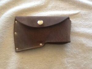 Leather Belt Axe Sheath for Hatchet Boy Scout Camp Axe