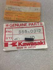 1985-1987 Kawasaki KX125 KDX200 Governor Shaft Spring Pin 555A0312 NOS OEM