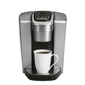 Keurig K-Elite Single Serve Coffee Maker - Brushed Silver New ☕