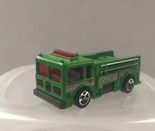 Mattel Hot Wheels 1976 Green Fire Eater Fire Rescue Race Truck Engine 9
