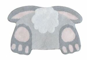 Celebrate Easter 20x30 Bunny Tail Bathroom Bath Mat Rug NWT