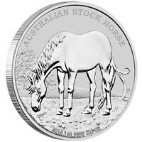 2016 Australian Stock Horse 1oz. Silver Coin uncirculated