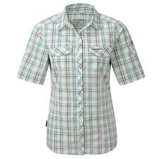 Craighoppers CWS440 Women's Chloe Spearmint Three Quarter Sleeved Button Shirt