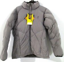 Browning Mystique Goose Down Jacket For Her Zinc Grey X-Small XS New