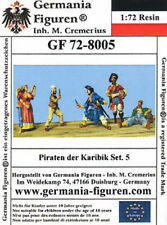 Germania Figuren 1/72 Pirates of the Caribbean Set 5 #72-8005