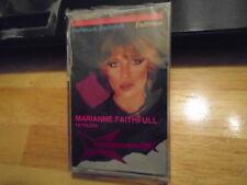 SEALED RARE OOP Marianne Faithfull CASSETTE TAPE Faithless country Bob Dylan cvr