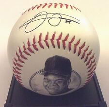 FRANK THOMAS Chicago WHITESOX Facsimile SIGNED Autograph PHOTO Stat Baseball