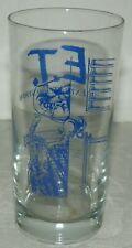 ET The Extra Terrestrial 10 Oz Pepsi Glass 1982 Universal Studios Amblin MCA NOS