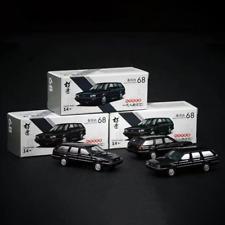 1/64 Volkswagen Santana Travel Edition Black Alloy Car Model