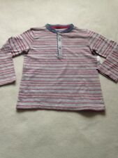 BNWT Boys Age 2-3 Years Red Multi Long Sleeved Top