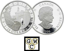 2006 Fortress of Louisbourg Proof $10 Silver .9999 Fine (11934)