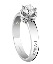Anello Solitario Damiani Minou 20055681 diamante ring diamond 0,20 kt punto luce