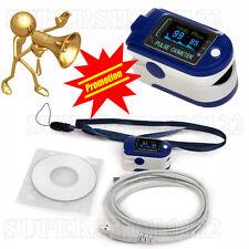 REGISTRATORE Contec 24 ore, dito pulsossimetro, ossigeno nel sangue, Spo 2+ USB + SOFTWARE