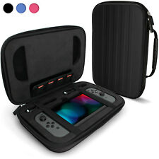 Black 'Elite' Eva Dur Travel Case Cover pour Nintendo Switch + poignée de transport