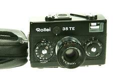 Rollei 35 TE schwarz mit Tessar 3,5/40mm   #504640912     ! Beli funktioniert !