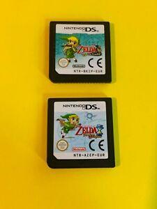 The Legend of Zelda Spirit Tracks and Phantom Hourglass DS - Cartridge Only