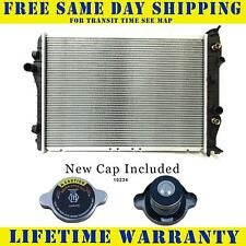 Radiator With Cap For 1993-2002 Chevy Camaro Pontiac Firebird Free Fast Shipping