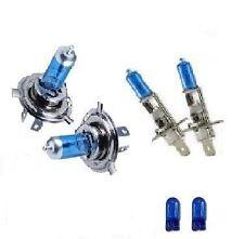 FORD FOCUS 98- XENON HEADLIGHT BULBS SUPER BLUE HID H4