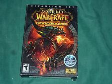 World of Warcraft: Cataclysm  (Multi-Platform, 2010) NEW & FACTORY SEALED!