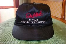 NASCAR Dale Earnhardt 5 Time Winston Cup Champion silky  Cap  Used  100-629