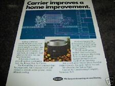 1970 Carrier Air Conditioning Round One Unit Ad
