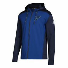 Details about St. Louis Blues adidas Womens Vertical Heathered Full Zip Hoodie XXL